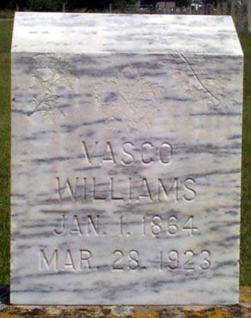 WILLIAMS, VASCO - Baker County, Oregon | VASCO WILLIAMS - Oregon Gravestone Photos