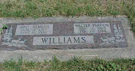 WILLIAMS, WALTER PARDON - Baker County, Oregon | WALTER PARDON WILLIAMS - Oregon Gravestone Photos