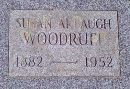 WOODRUFF, SUSAN - Baker County, Oregon | SUSAN WOODRUFF - Oregon Gravestone Photos