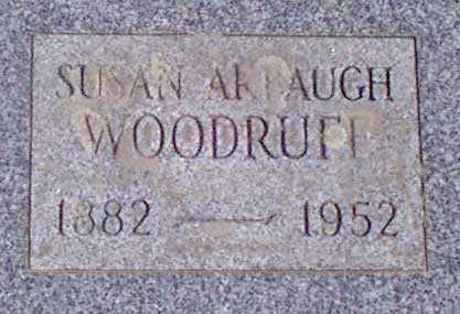 WOODRUFF, SUSAN - Baker County, Oregon | SUSAN WOODRUFF - Oregon Gravestone Photos