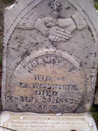 MITCHELL WOODWORTH, FRANCES I. - Baker County, Oregon | FRANCES I. MITCHELL WOODWORTH - Oregon Gravestone Photos