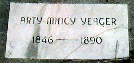 YEAGER, ARTAMENCE (ARTY MINCY) - Baker County, Oregon   ARTAMENCE (ARTY MINCY) YEAGER - Oregon Gravestone Photos