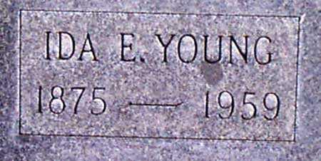 YOUNG, IDA ETHEL - Baker County, Oregon   IDA ETHEL YOUNG - Oregon Gravestone Photos
