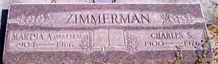 ZIMMERMAN, CHARLES S. - Baker County, Oregon | CHARLES S. ZIMMERMAN - Oregon Gravestone Photos