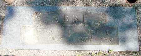ABBE, JOHN EDWARD - Benton County, Oregon | JOHN EDWARD ABBE - Oregon Gravestone Photos