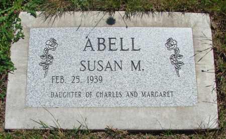 ABELL, SUSAN M - Benton County, Oregon | SUSAN M ABELL - Oregon Gravestone Photos