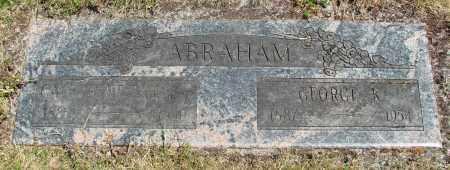 ABRAHAM, GEORGE KINKADE - Benton County, Oregon   GEORGE KINKADE ABRAHAM - Oregon Gravestone Photos