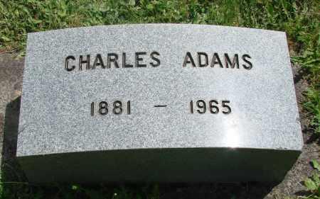 ADAMS, CHARLES - Benton County, Oregon   CHARLES ADAMS - Oregon Gravestone Photos