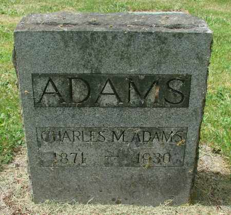 ADAMS, CHARLES MARTIN - Benton County, Oregon | CHARLES MARTIN ADAMS - Oregon Gravestone Photos