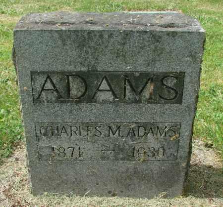 ADAMS, CHARLES MARTIN - Benton County, Oregon | CHARLES MARTIN ADAMS - Oregon Gravestone Photos