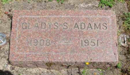 ADAMS, GLADYS SHIRLEY - Benton County, Oregon | GLADYS SHIRLEY ADAMS - Oregon Gravestone Photos
