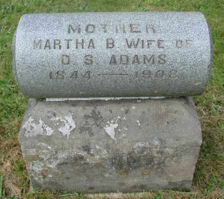 ADAMS, MARTHA BRITANN - Benton County, Oregon   MARTHA BRITANN ADAMS - Oregon Gravestone Photos
