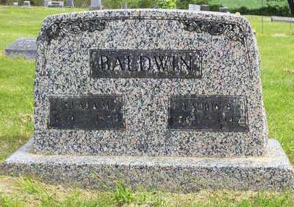 BALDWIN, LAURIN BURTON - Benton County, Oregon   LAURIN BURTON BALDWIN - Oregon Gravestone Photos
