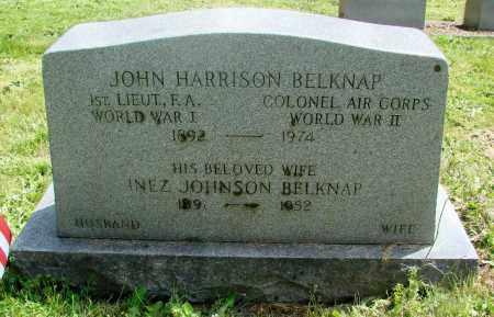 BELKNAP, INEZ - Benton County, Oregon | INEZ BELKNAP - Oregon Gravestone Photos