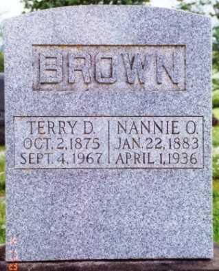 BROWN, TERRY D. - Benton County, Oregon | TERRY D. BROWN - Oregon Gravestone Photos