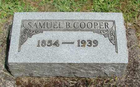COOPER, SAMUEL B - Benton County, Oregon | SAMUEL B COOPER - Oregon Gravestone Photos
