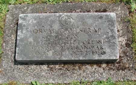 GILSTRAP, ORVAL CLYDE - Benton County, Oregon   ORVAL CLYDE GILSTRAP - Oregon Gravestone Photos