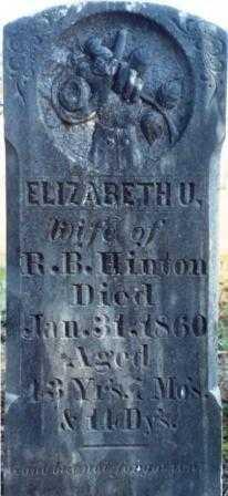 HINTON, ELIZABETH EUNICE - Benton County, Oregon | ELIZABETH EUNICE HINTON - Oregon Gravestone Photos