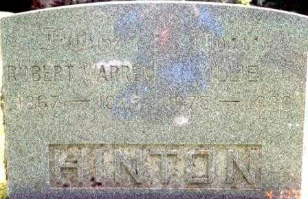HINTON, OLLIE - Benton County, Oregon | OLLIE HINTON - Oregon Gravestone Photos