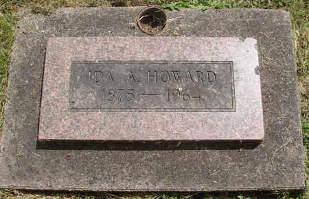 ADAMS HOWARD, IDA ANN - Benton County, Oregon | IDA ANN ADAMS HOWARD - Oregon Gravestone Photos
