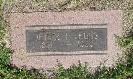 LEWIS, JAMES L - Benton County, Oregon | JAMES L LEWIS - Oregon Gravestone Photos