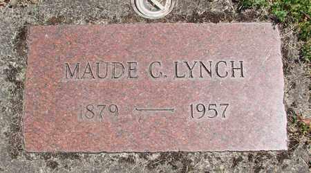 LYNCH, MAUDE C - Benton County, Oregon | MAUDE C LYNCH - Oregon Gravestone Photos