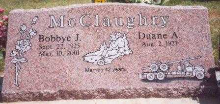MCCLAUGHRY, DUANE A. DOUGLAS - Benton County, Oregon | DUANE A. DOUGLAS MCCLAUGHRY - Oregon Gravestone Photos