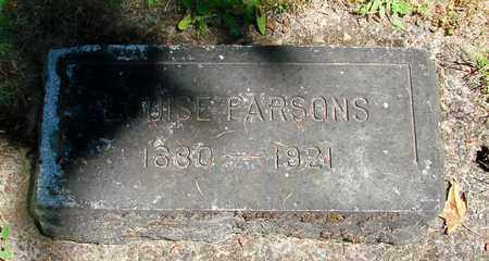 PARSONS, LOUISE - Benton County, Oregon | LOUISE PARSONS - Oregon Gravestone Photos