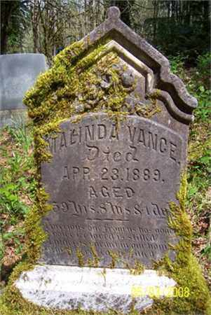 HAMAR VANCE, MALINDA ANN - Benton County, Oregon | MALINDA ANN HAMAR VANCE - Oregon Gravestone Photos