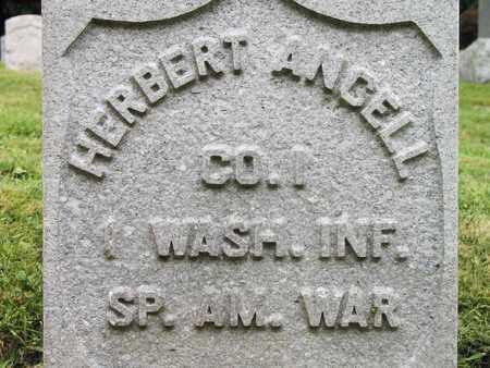 ANGELL, HERBERT - Clackamas County, Oregon | HERBERT ANGELL - Oregon Gravestone Photos