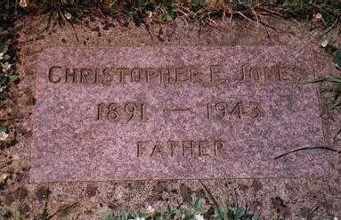 JONES, CHRISTOPHER E. - Clackamas County, Oregon | CHRISTOPHER E. JONES - Oregon Gravestone Photos