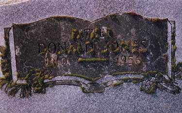 JONES, DONALD - Clackamas County, Oregon | DONALD JONES - Oregon Gravestone Photos