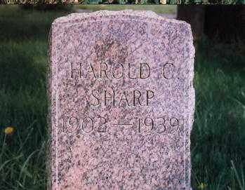 SHARP, HAROLD C. - Clackamas County, Oregon | HAROLD C. SHARP - Oregon Gravestone Photos