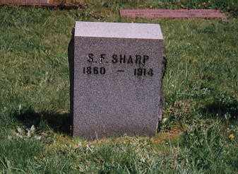 SHARP, SAMUEL FRANK - Clackamas County, Oregon | SAMUEL FRANK SHARP - Oregon Gravestone Photos