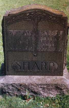 ROBBINS SHARP, ZOBEDA - Clackamas County, Oregon | ZOBEDA ROBBINS SHARP - Oregon Gravestone Photos