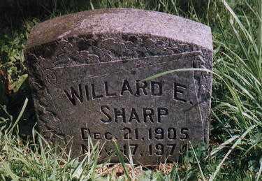 SHARP, WILLARD EDWARD - Clackamas County, Oregon | WILLARD EDWARD SHARP - Oregon Gravestone Photos