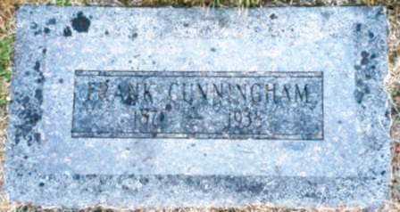 CUNNINGHAM, FRANK - Clatsop County, Oregon   FRANK CUNNINGHAM - Oregon Gravestone Photos