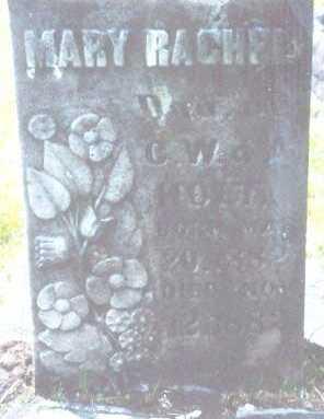 HOLT, MARY RACHEL - Clatsop County, Oregon | MARY RACHEL HOLT - Oregon Gravestone Photos