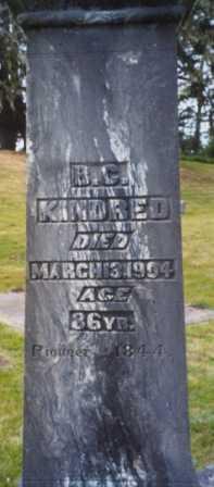 KINDRED, BARTHOLOMEW CAREK - Clatsop County, Oregon | BARTHOLOMEW CAREK KINDRED - Oregon Gravestone Photos