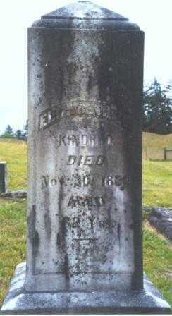 DOAK KINDRED, ELIZABETH M. - Clatsop County, Oregon | ELIZABETH M. DOAK KINDRED - Oregon Gravestone Photos