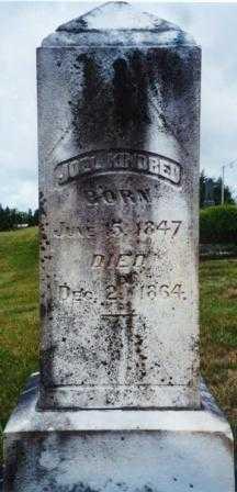 KINDRED, JOEL - Clatsop County, Oregon   JOEL KINDRED - Oregon Gravestone Photos
