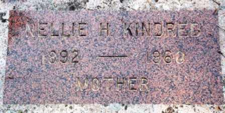 KINDRED, NELLIE HAZEL - Clatsop County, Oregon | NELLIE HAZEL KINDRED - Oregon Gravestone Photos
