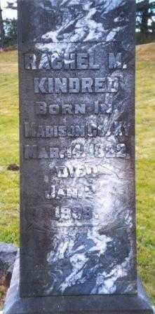 KINDRED, RACHEL - Clatsop County, Oregon | RACHEL KINDRED - Oregon Gravestone Photos