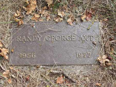 AXT, RANDY GEORGE - Douglas County, Oregon | RANDY GEORGE AXT - Oregon Gravestone Photos