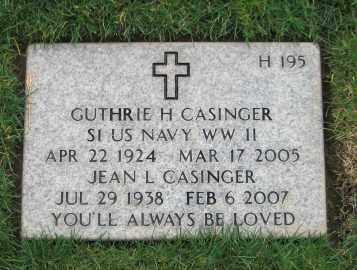 CASINGER, JEAN LORRAINE - Douglas County, Oregon | JEAN LORRAINE CASINGER - Oregon Gravestone Photos