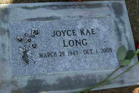 LONG, JOYCE KAE - Douglas County, Oregon | JOYCE KAE LONG - Oregon Gravestone Photos