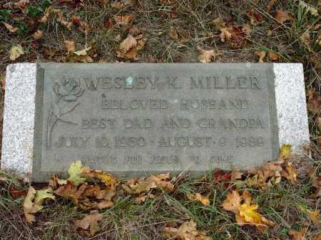 MILLER, WESLEY K. - Douglas County, Oregon   WESLEY K. MILLER - Oregon Gravestone Photos