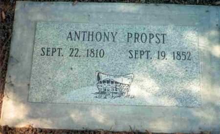 PROPST, ANTHONY - Douglas County, Oregon | ANTHONY PROPST - Oregon Gravestone Photos
