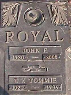 ROYAL, JOHN F - Douglas County, Oregon | JOHN F ROYAL - Oregon Gravestone Photos