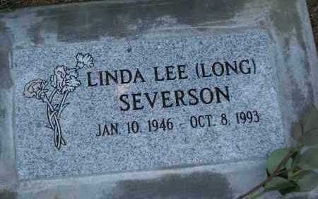 SEVERSON, LINDA LEE - Douglas County, Oregon | LINDA LEE SEVERSON - Oregon Gravestone Photos
